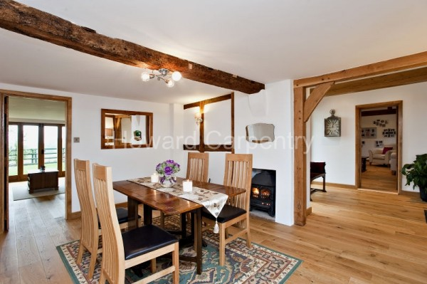 Oak flooring, property in Herefordshire