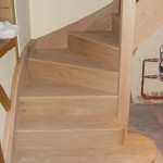 Oak staircase, property in Evesham